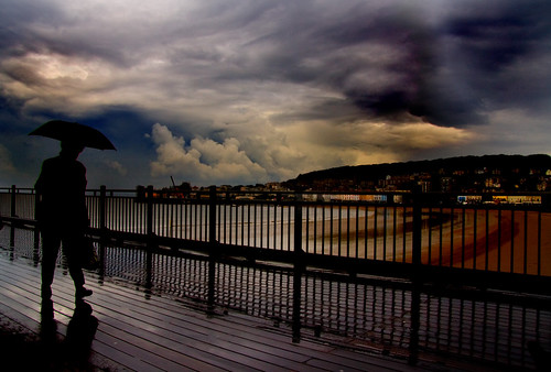 Walk in the Rain ....... WSM Pier | by Mike_Sherman