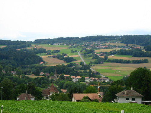 Hilly terrain for a skateboard (near Oron la Ville, Switzerland) | by Robert Thomson