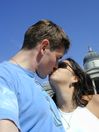 Trafalgar Sq Kiss | by webergordo