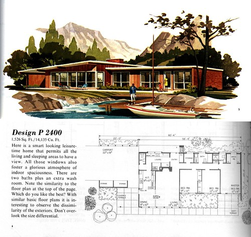 Mid Century Modern House Plans Endearing Mcm Houseplans  Flickr