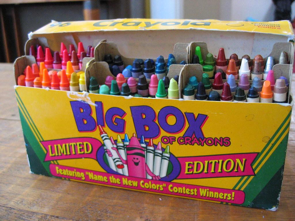 big box of crayons does anyone remember this crayola had flickr