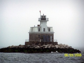 Penfield Reef Lighthouse, Fairfield, Connecticut (CT) | by bobindrums