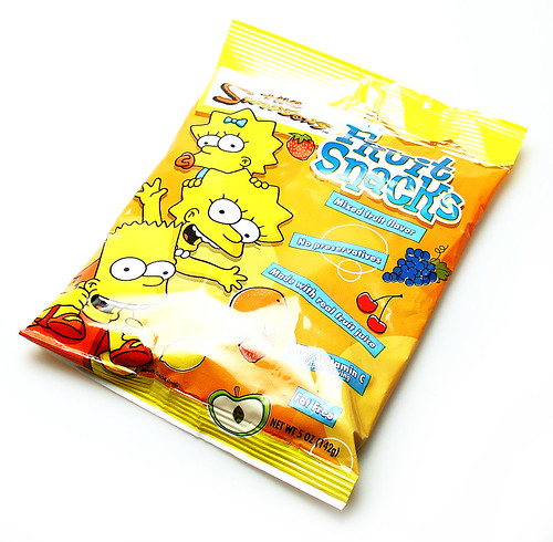 Simpsons Fruit Snacks | by cybele-