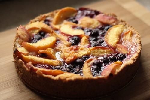 Blueberry Peach Cake Rose Reisman Recipe