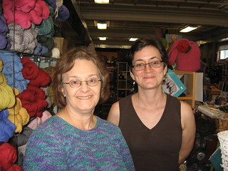 Knitting Maven Kathy Zimmerman and Babs! | by add_knitter