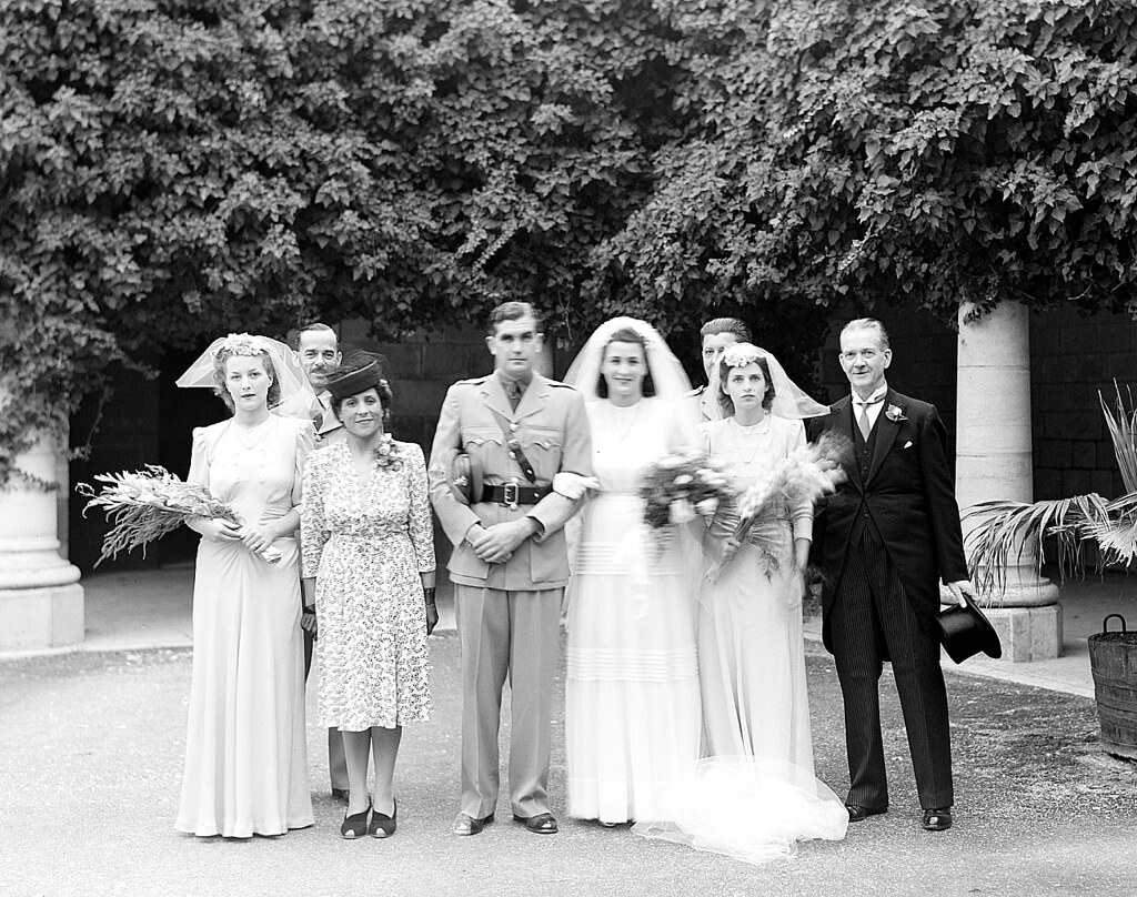 1940s Wedding Dress Speed And Prendergast Wedding In The 1 Flickr