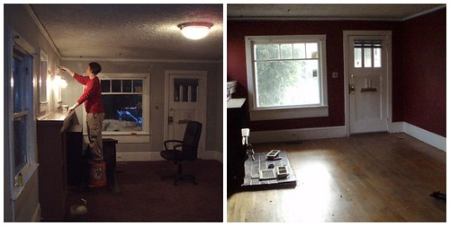 before&after: house | by cold bright day