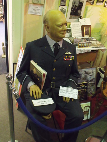 Bletchley Park - The Churchill Collection - dummy of Winston Churchill in uniform | by ell brown