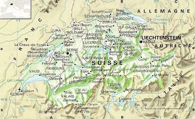 carte geographique suisse | Retrouvez la carte geographique … | Flickr
