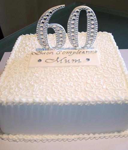 Happy 60th Birthday Cake