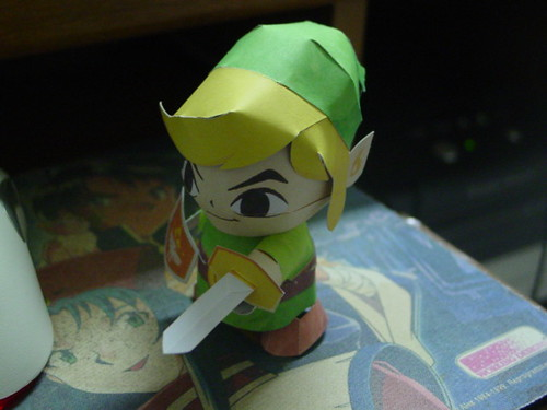 papercraft Link | by crazybluepanda