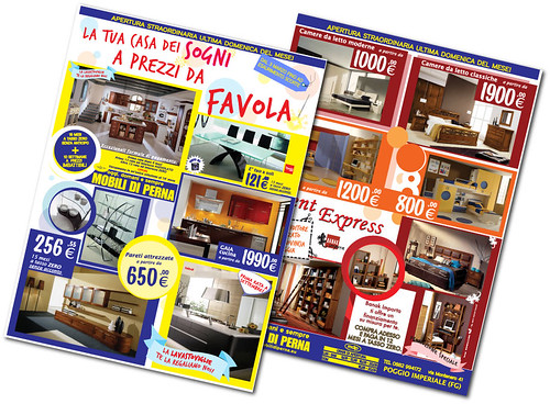 Mobili di perna volantino promozionale la tua casa dei for Progetta la tua casa dei sogni in 3d