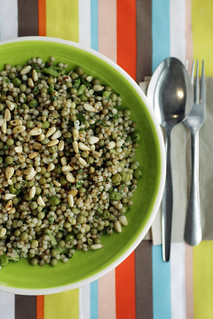 Giant Couscous, Peas and Broccoli | by Salad Pride