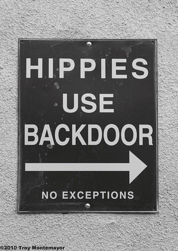 Hippies Use Backdoor | by 4 Corners Photo