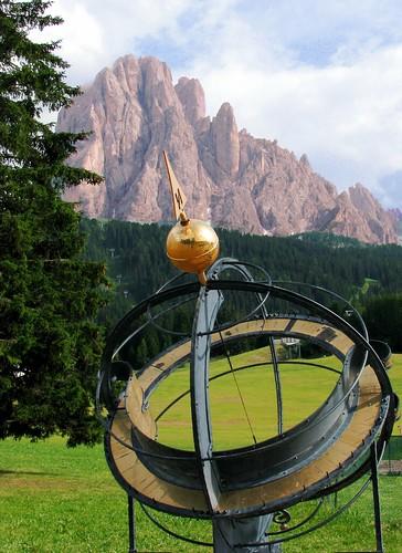 Santa Cristina in Val Gardena – Monte Pana, orologio solar ...