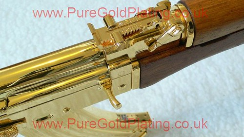 Gold Plated AK-47 k | by PureGoldPlating