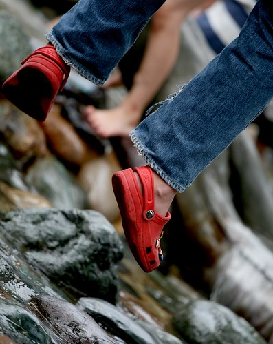Red Crocs | by *~fer~*