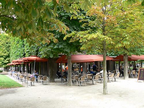 Caf very jardin des tuileries paris france terrasse du ca flickr - Jardin des tuileries foire ...