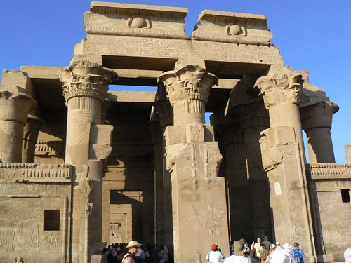 the twin sanctuaries of kom ombo | by cardbush