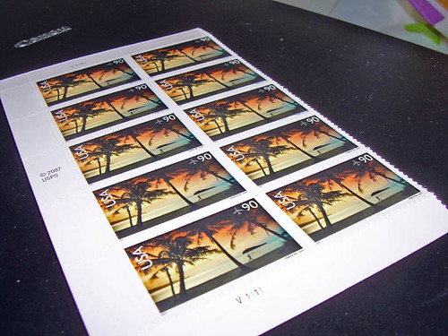 90-cent stamps for Postcrossing | by Morton Fox