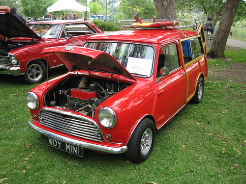 1964 austin mini countryman front a 1964 austin mini. Black Bedroom Furniture Sets. Home Design Ideas