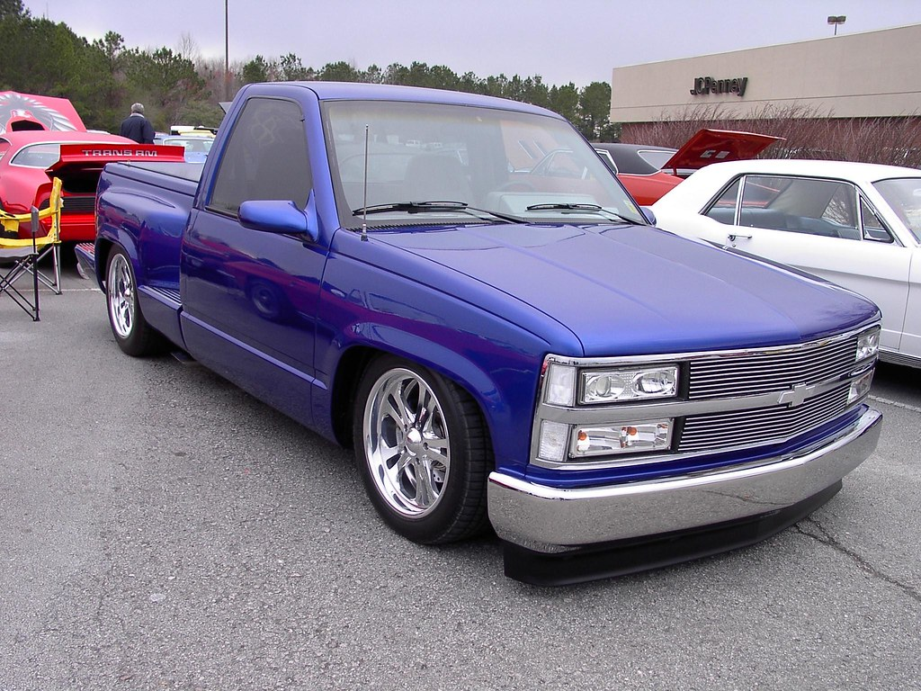 1995 Chevrolet Truck 02 Mike Flickr Custom Chevy Trucks By V8 Power