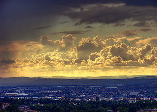 Clouds over Edinburgh | by elementalPaul