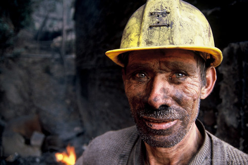 Portrait of a coal miner. Colombia | by World Bank Photo Collection