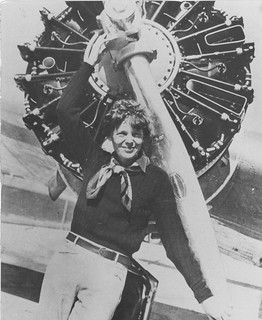 Earhart , Amelia | by San Diego Air & Space Museum Archives