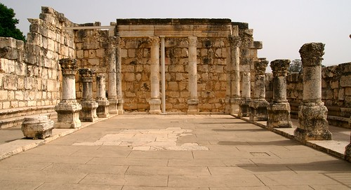 Synagogue at Capernaum | by dc chen
