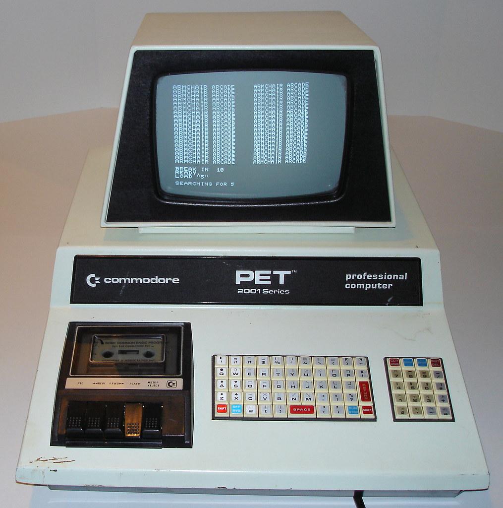 01 - Commodore PET 2001-8 | armchairarcade.com/neo/node/1408… | Flickr