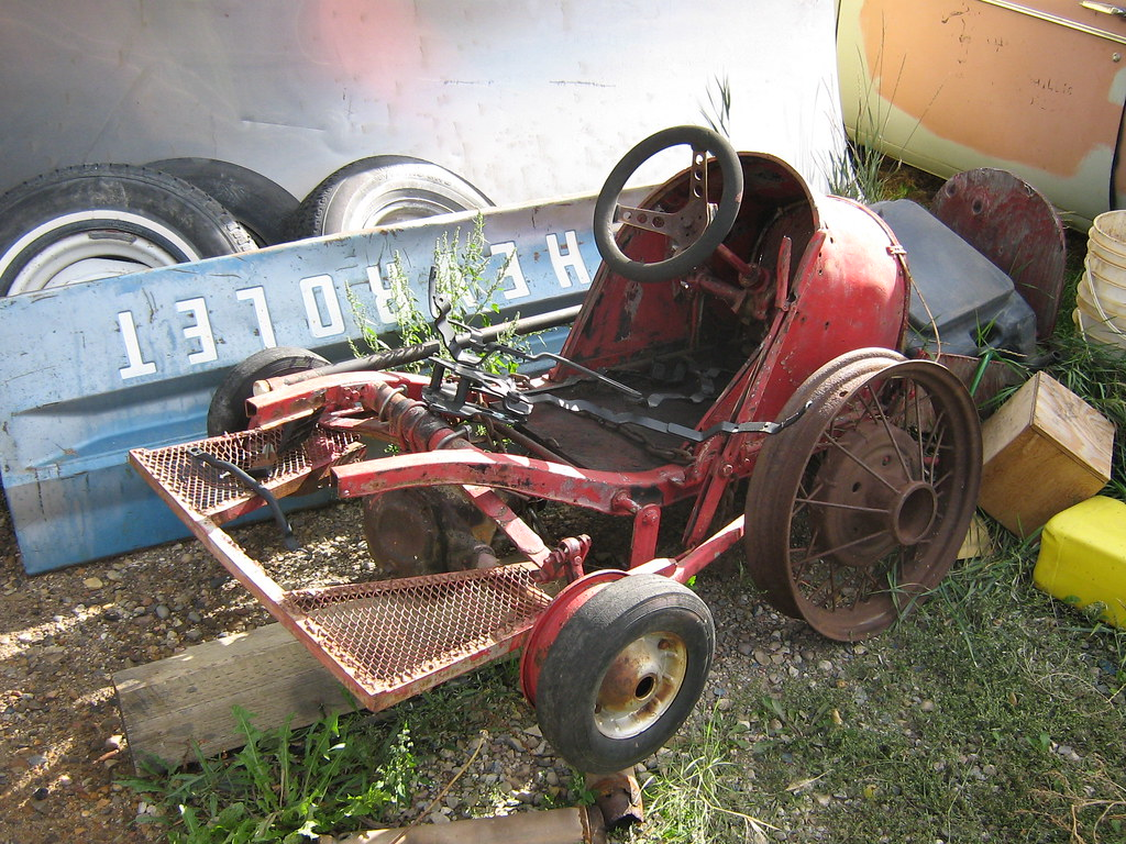 Old Go-Kart   An interesting looking old go-kart. Or parts o…   Flickr