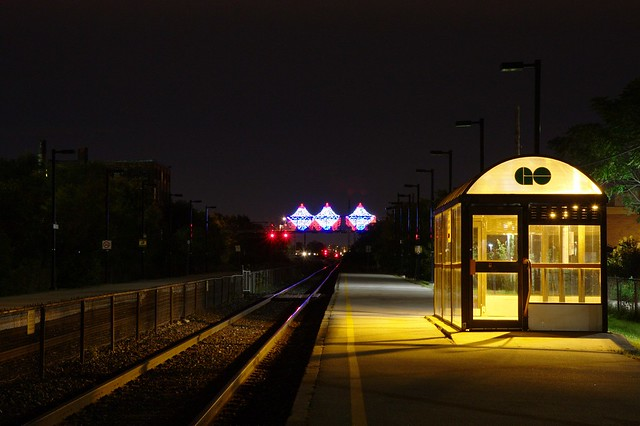 Rail of Light and the Bloor GO Station