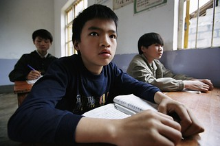 Students in classroom. China | by World Bank Photo Collection