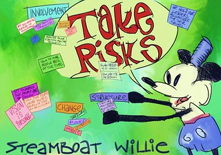 Disney Institute -- Steamboat Willie Says Take Risks | by royblumenthal
