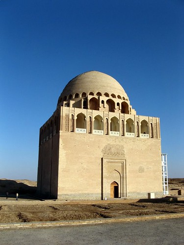 old Sultan Sanjar mausoleum at Merw | by Carpe Feline