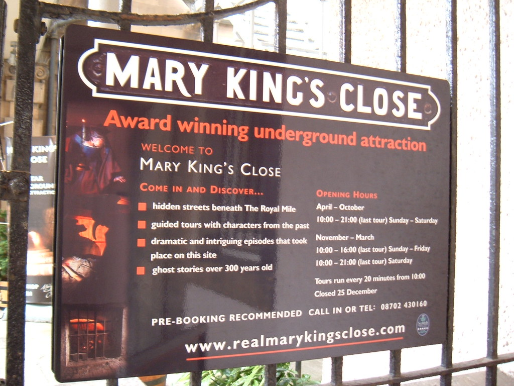 Image result for mary kings close