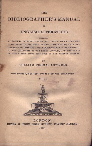 Lowndes Bibliography | by bible_wiki