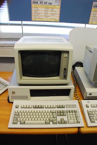 IBM PC XT 286, 1986