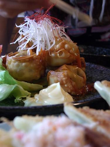 Deep Fried Wontons, Gyoza Centre, Gora