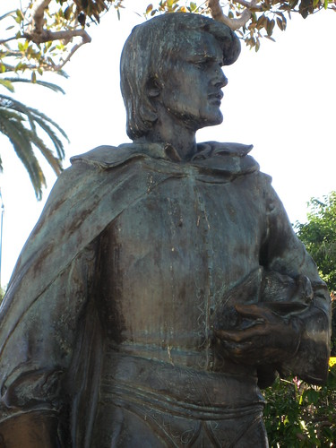 Felipe de Neve Stature in Plaza Park | by Floyd B. Bariscale