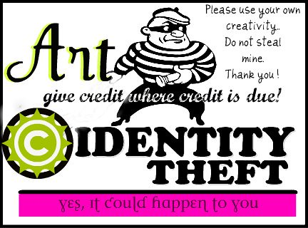 Art Identity Theft Badge | by AmbitionsDesign