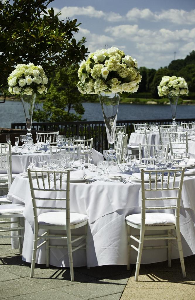 Outdoor Wedding Reception In Gaithersburg Maryland Flickr