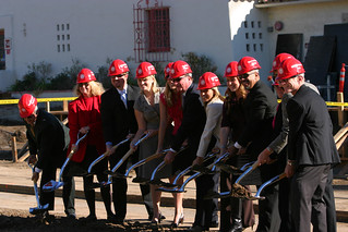 Ground Breaking Line at University Student Union | by California State University Channel Islands