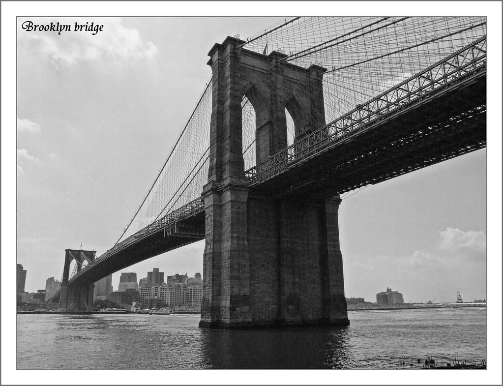 BN BB (BLANCO Y NEGRO BROOKLYN BRIDGE)   El Puente de Brookl…   Flickr