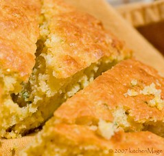 Feta Chive Cornbread | by kitchenmage