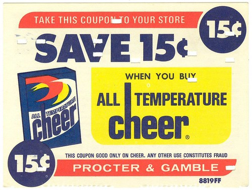 Cheer coupon | by Waffle Whiffer