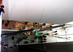 MOMA interior and Bell-47D1 Helicopter | by John FotoHouse