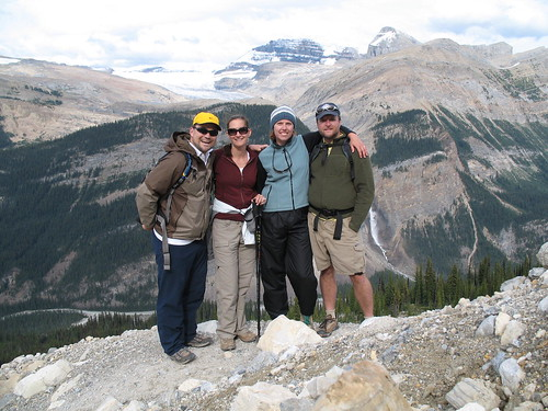 Hiking Group on Iceline Trail in Yoho National Park | by BootsnAll
