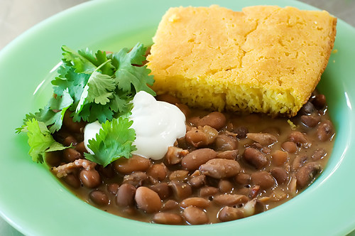 porch beans cornbread 120 | by Ree Drummond / The Pioneer Woman